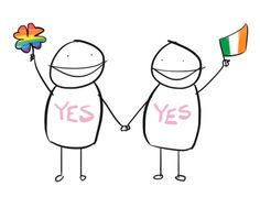 Congratulations, Ireland! Equality is great for mental health!