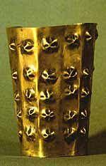 Inca/Maya gold armlet