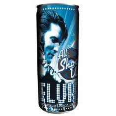 Elvis All Shook Up Energy Drink
