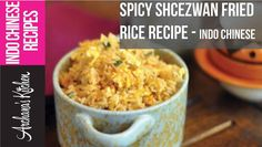 Watch this video of making of spicy schezwan egg fried rice. A spicy yet comforting rice dish it is perfect dinner for monsoon nights or when you have guests. Serve with Thai Roasted Vegetables with Peanut Coconut Sauce.   https://www.youtube.com/watch?v=fqgTsRKFCok #Vegetarian #Recipes