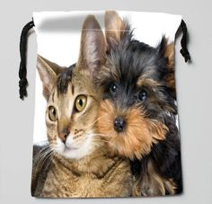 Best Friends Drawstring Pouch