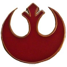 Amazon.com: Star Wars REBEL ALLIANCE Sm RED Logo Enamel PIN: Clothing ($9.99) ❤ liked on Polyvore featuring jewelry, brooches, pin brooch, red brooch, red jewelry, pin jewelry and enamel brooches