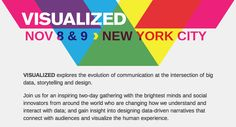 Visualized Conference - November 8 & 9 - NYC - awesome lineup and great location