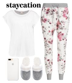 """""""staycation"""" by j-n-a ❤ liked on Polyvore featuring Victoria's Secret and staycation"""