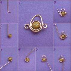 Perline Fimo & Co - Tutorial bracciale realizzato con wire