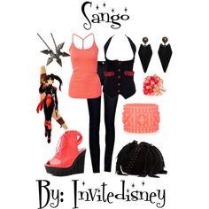 """""""Sango"""" by invitedisney on Polyvore"""