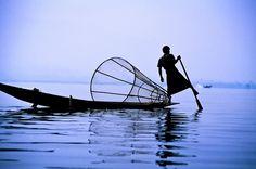 Fisherman on Lake Inle, Burma ©by Ingo Jezierski (Berlin, Germany)