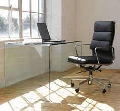 The sleekness of the Eames office chair sets it apart from any other kind of furniture