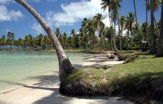 Playa en la peninsula de Samaná