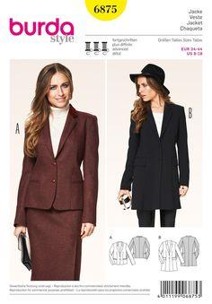 BD6875 Misses Blazer & Frock