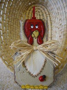 Rooster Patio Person by SunburstOutdoorDecor on Etsy, $20.00