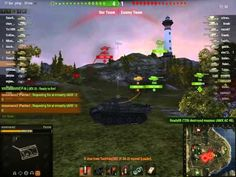 World of Tanks Panther + IS Platoon Cliff Gameplay - YouTube