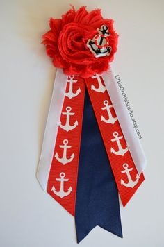 nautical baby shower mommy to be corsage nautical pin baby shower corsage