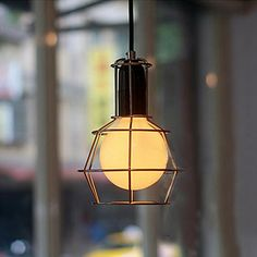 Creativo American Style 1 Lámpara colgante - EUR € 65.99