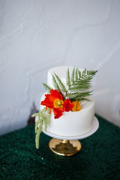 Flowers by Lace and Lilies, Cake Flowers, Spring Wedding