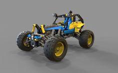 Lego buggy | 3D model