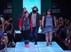 e6325aa273b End of the skinny model   Inside Lakme Fashion Week s first plus-size show