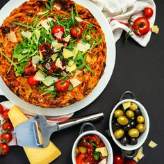 Get inspired and cook the spaghetti cake in Remoska® for dinner. The Dish, Paella, Spaghetti, Dishes, Inspired, Eat, Cooking, Ethnic Recipes, Food