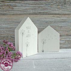 Decorative objects – wooden Scandinavian-style wooden cottage set – a designer st … - DIY CHRİSTMAS Scrap Wood Crafts, Wood Block Crafts, Wooden Crafts, Wood Blocks, Wood Projects, Fall Crafts, Home Crafts, Diy And Crafts, Wooden Cottage