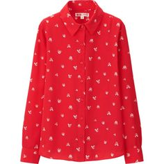 WOMEN Disney Project LONG SLEEVE BLOUSE