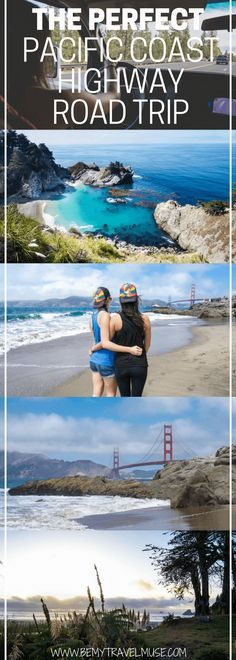 An epic Pacific Coast Highway road trip itinerary for your next California getaway, including the best stops, camping tips, best routes and so much more | Be My Travel Muse