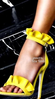 Mellow Yellow, Mustard Yellow, Black N Yellow, Yellow Fashion, Colorful Fashion, Pantone, Women's Shoes Sandals, Shoe Boots, Yellow Orchid