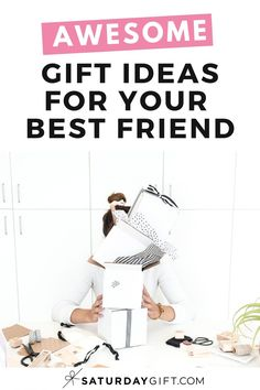 Looking for cute, fun, amazingly awesome yet affordable gifts for friends? Super! Here's a list of gift ideas your best friends are going to love!  Grab this post for ideas whenever you need them.  #gifts #ideas #planning #bestfriend #cute Cute Gifts For Friends, We Are Best Friends, Best Friend Gifts, Your Best Friend, Best Gifts, Life Binder, Life Planner, Exploding Gift Box, Sisters By Heart