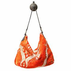 Want this so bad!!! Mina Bag Orange now featured on Fab.