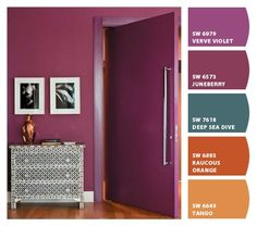 Instantly turn any picture into a palette with ColorSnap, created for you by Sherwin-Williams. Tall Cabinet Storage, Locker Storage, Colour Schemes, Color Inspiration, Paint Colors, Chalk Paint, Home Decor, Decorating, Bedroom