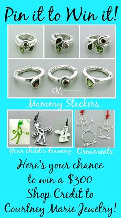Don't miss out for a chance to win a $300 Courtney Marie Jewelry shop credit!!