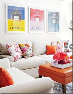 fresh-feminine-mainroom, chanel posters