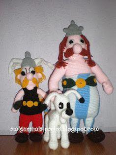 Asterix, Obelix e Idefix!