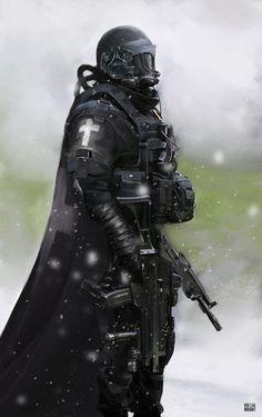 Black Templar by Viktor-Bright