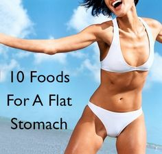 foods for flat stomach