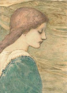 Spirit of the Downs by Edward Burne-Jones