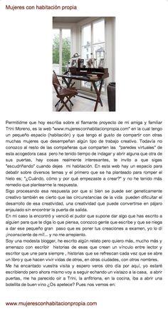 Mujeres con habitación propia. http://elblogdegemahernandez.blogspot.com.es/