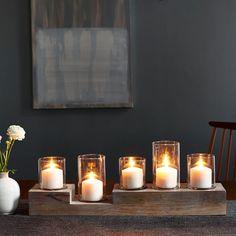 Light Wood Centrepiece