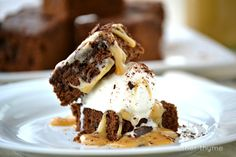 Mexican Brownies with Dulce de Leche