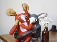 whimsical creatures made by MUTAtoys Ooak Dolls, Art Dolls, Monster Toys, Designer Toys, Handmade Toys, Plushies, Doll Clothes, Whimsical, Etsy Seller