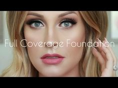 If you are not about caking that face then warning, this video is not for you! This is my go to full coverage founation routine, that is great for those of u...