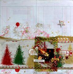 14/12/2014 Dear Santa, Scrapbooking, Wreaths, Home Decor, Homemade Home Decor, Door Wreaths, Scrapbook, Deco Mesh Wreaths, Interior Design