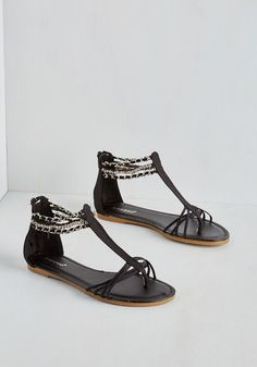 Took the Midnight Chain Sandal, @ModCloth