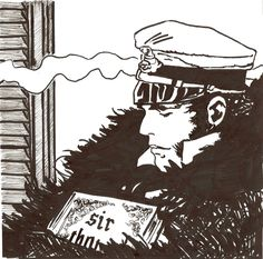 Corto Maltese by ~Rorat on deviantART