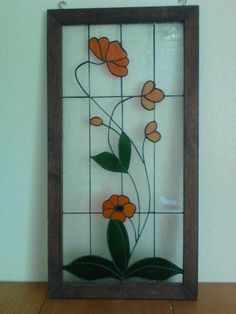 Hand Made Stained Glass Window   eBay