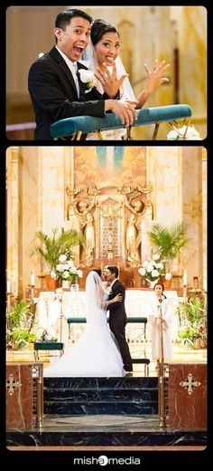 Weddings at Queen of All Saints | Syeda and Mark