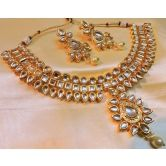 Gorgeous Kundan Gold Plated Indian Necklace