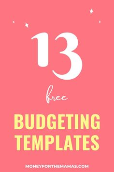 Get your FREE (simple & straightforward) printable budget worksheets and finally get your finances organized once and for all! Ways To Save Money, Money Saving Tips, Money Tips, Budgeting Finances, Budgeting Tips, Family Budget, Big Family, Family Life, Budget Worksheets