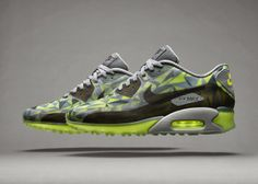 New products : Air Superiority ; Nike's Latest Innovations Showcased On Three New Air Max 90s.