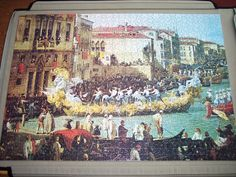 'Carnival' by Canaletto. Jigsaw Puzzles, City Photo, Carnival, June, Painting, Art, Art Background, Painting Art, Paintings