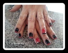 Nails decoradas esmalte en gel